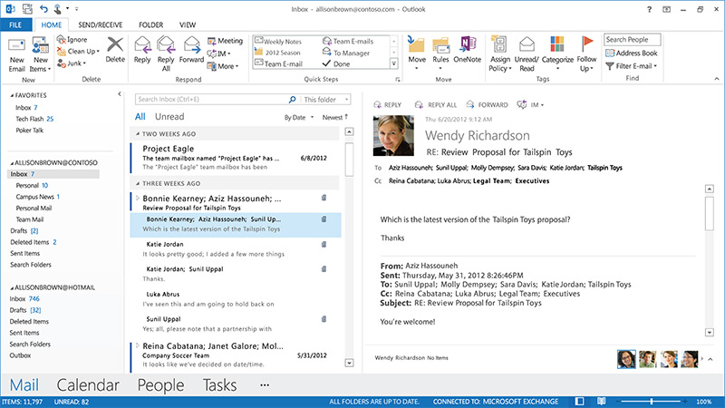 how to add contacts in microsoft outlook 2013